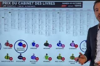Le prono interactif d'Anthony Roi pour le Quinté+ du samedi 9 octobre à Chantilly